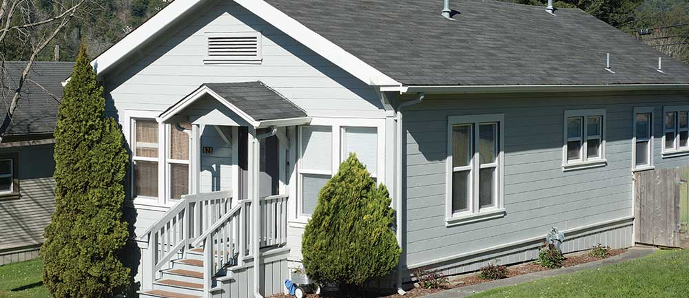 Redwood timber homes in Scotia move in ready