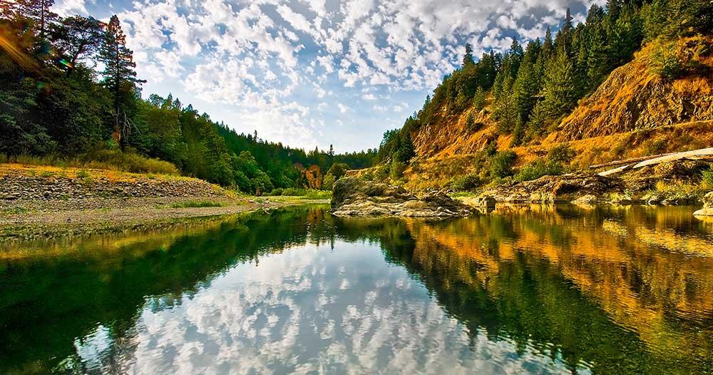 Eel River Near Scotia CA
