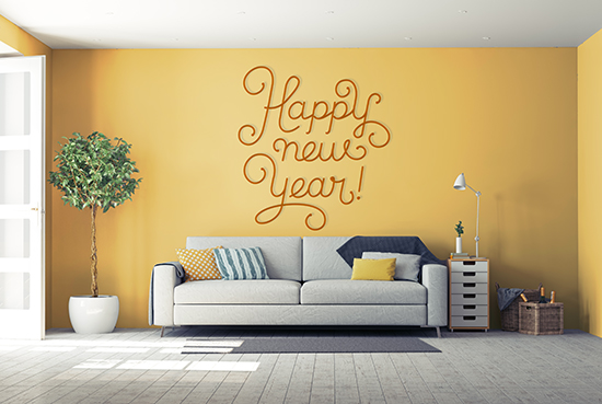 Most Popular New Year's Resolutions for Your Home