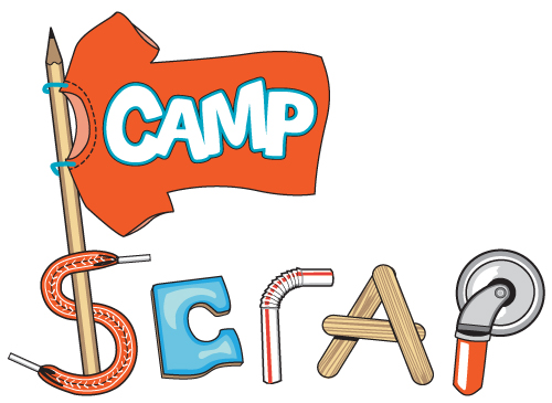 Let Your Child Be Creative At Camp SCRAP!